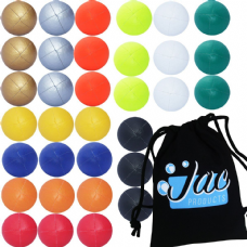 Set of 3 Jac Products Thud Juggling Balls 120g (Solid Colours)